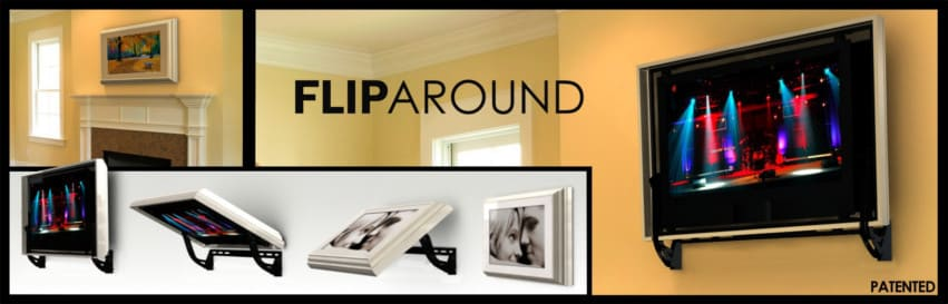 Flip Around Hidden TV lift