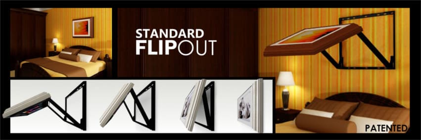 Flip Out Hidden TV Lift Watch Tv From Bed