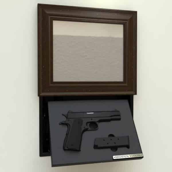 'M9' In-wall concealment - MOTORIZED-89