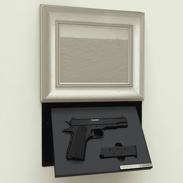 'M9' In-wall concealment - MOTORIZED-103