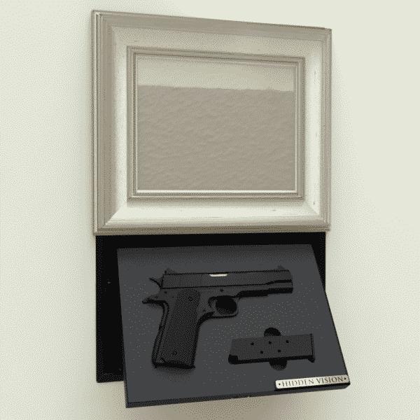 'M9' In-wall concealment - MANUAL w/ Hidden Lock-112