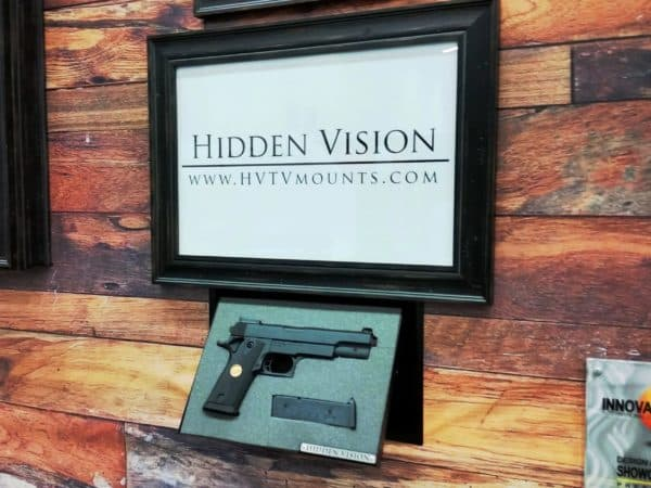 M9 Picture frame wall concealment Non Motorized