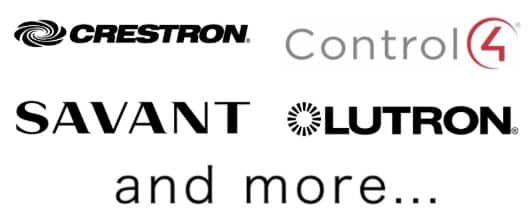 Compatible with Savant, Crestron, Control 4, Lutron, and more