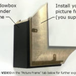 SHADOWBOX EXTENDER - Black